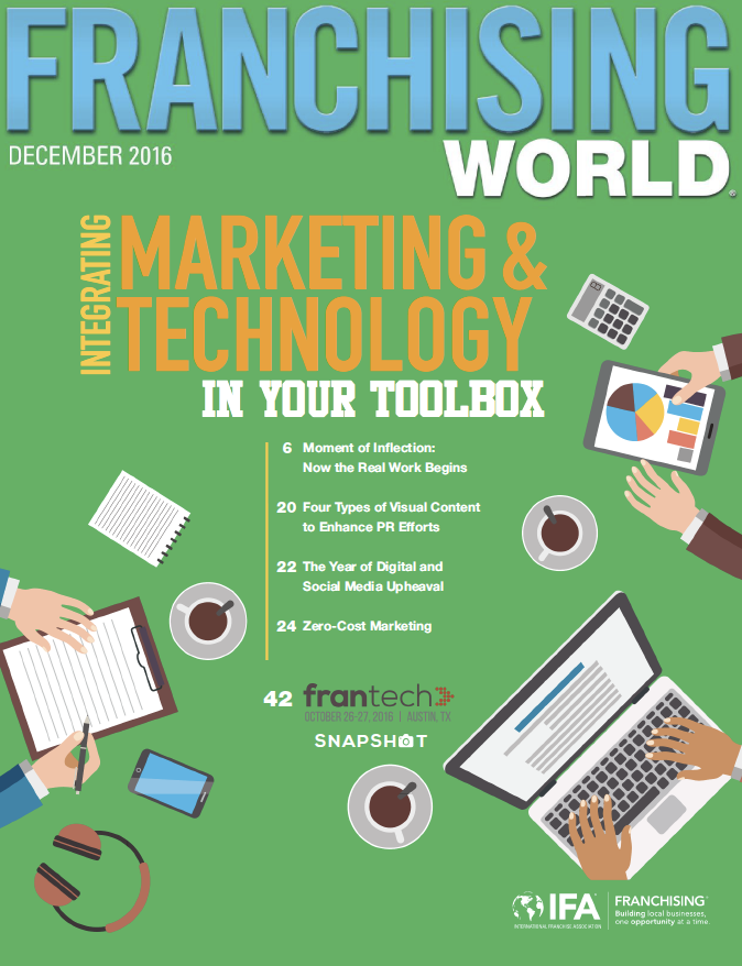 Franchising World December 2016 Digital Edition