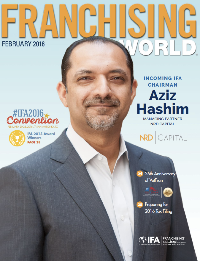 February 2016 Franchising World Digital Edition