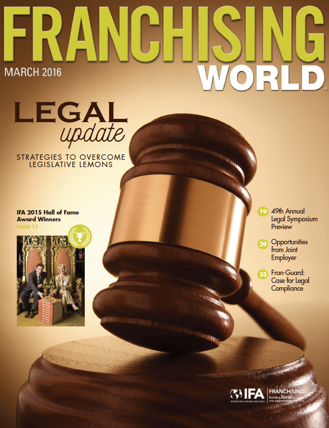 Franchising World March 2016 Digital Edition