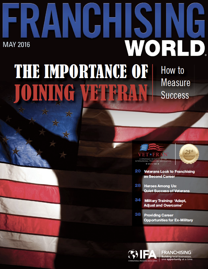 Franchising World May 2016 Digital Edition