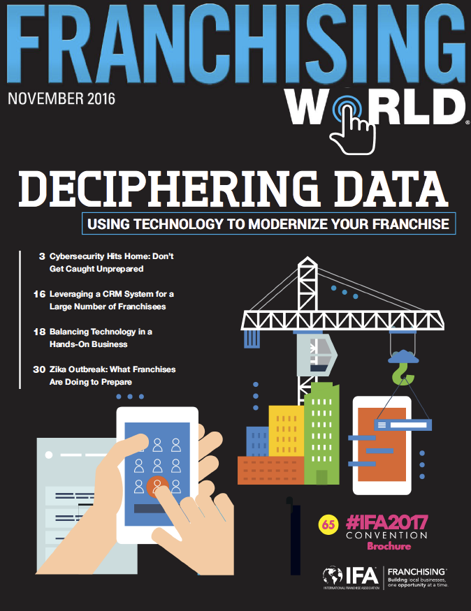 Franchising World November 2016 Digital Edition