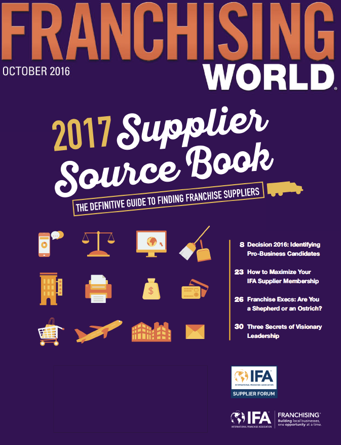 Franchising World October 2016 Digital Edition