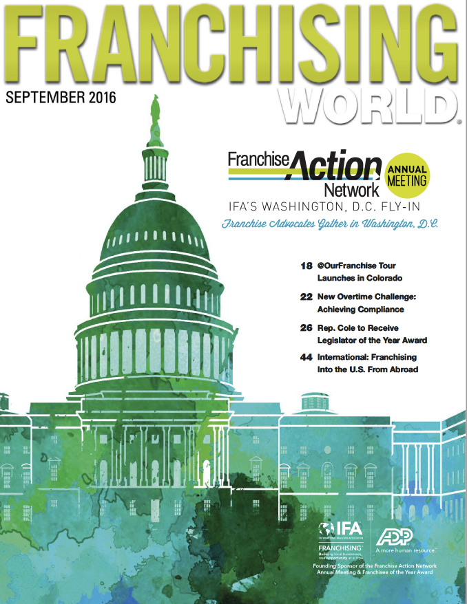 Franchising World September 2016 Digital Edition