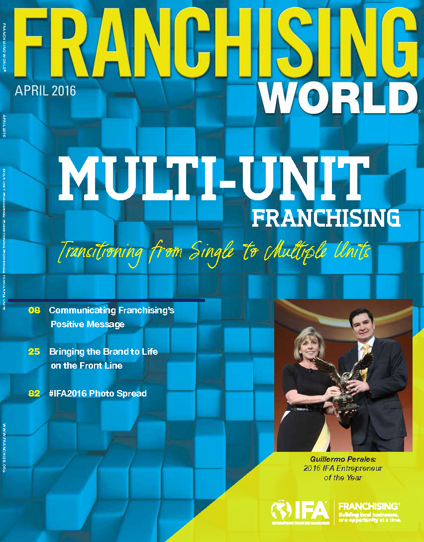Franchising World April 2016 Digital Edition