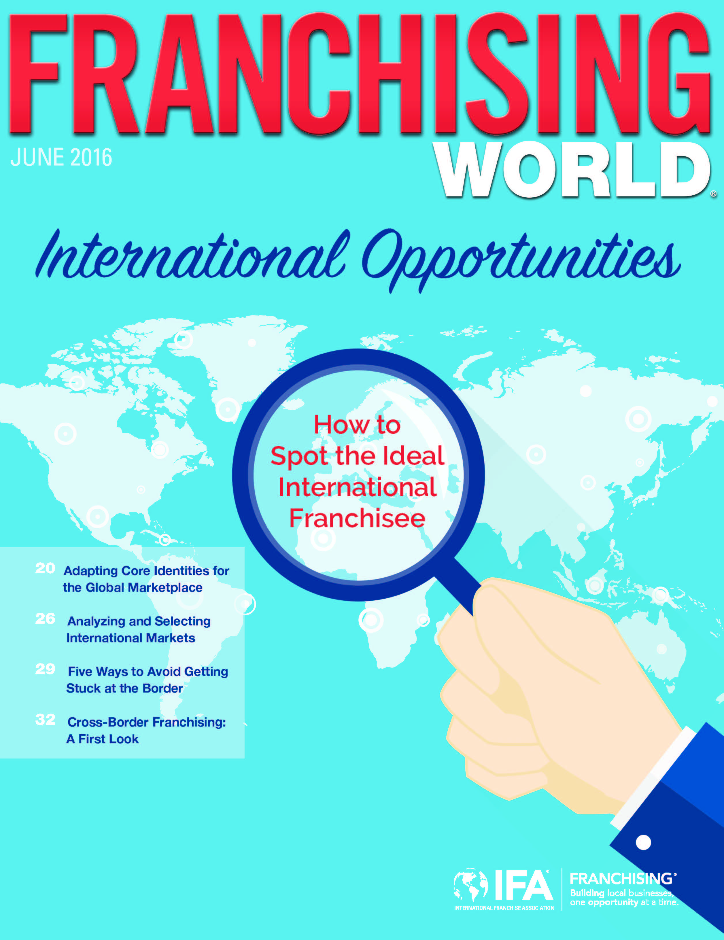 Franchising World June 2016 Digital Edition