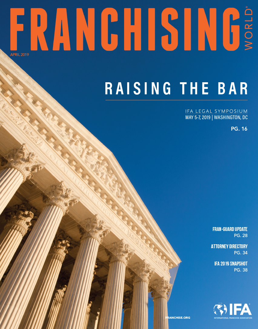 Franchising World April 2019