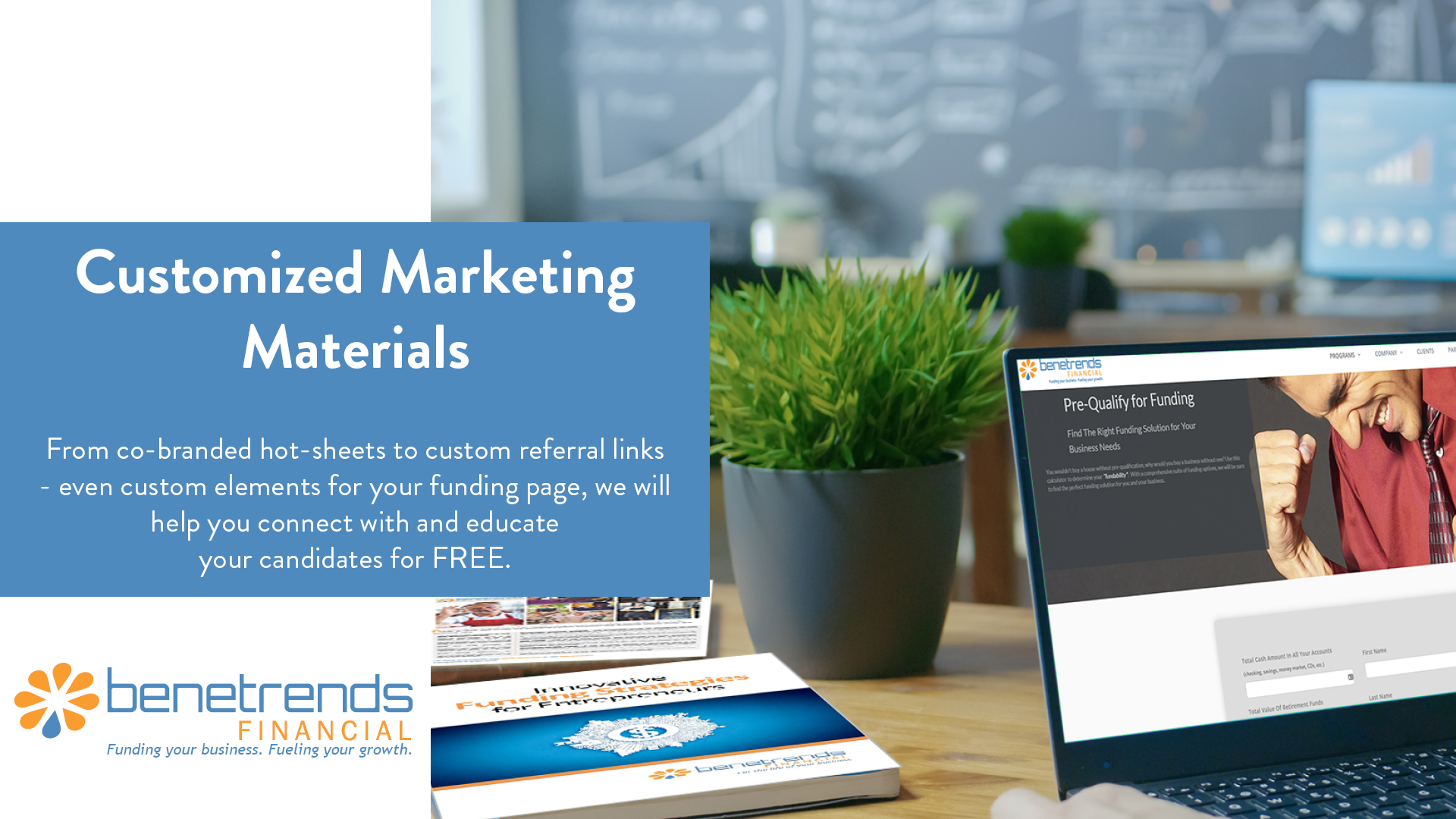 Benetrends Financial Customized Marketing Materials
