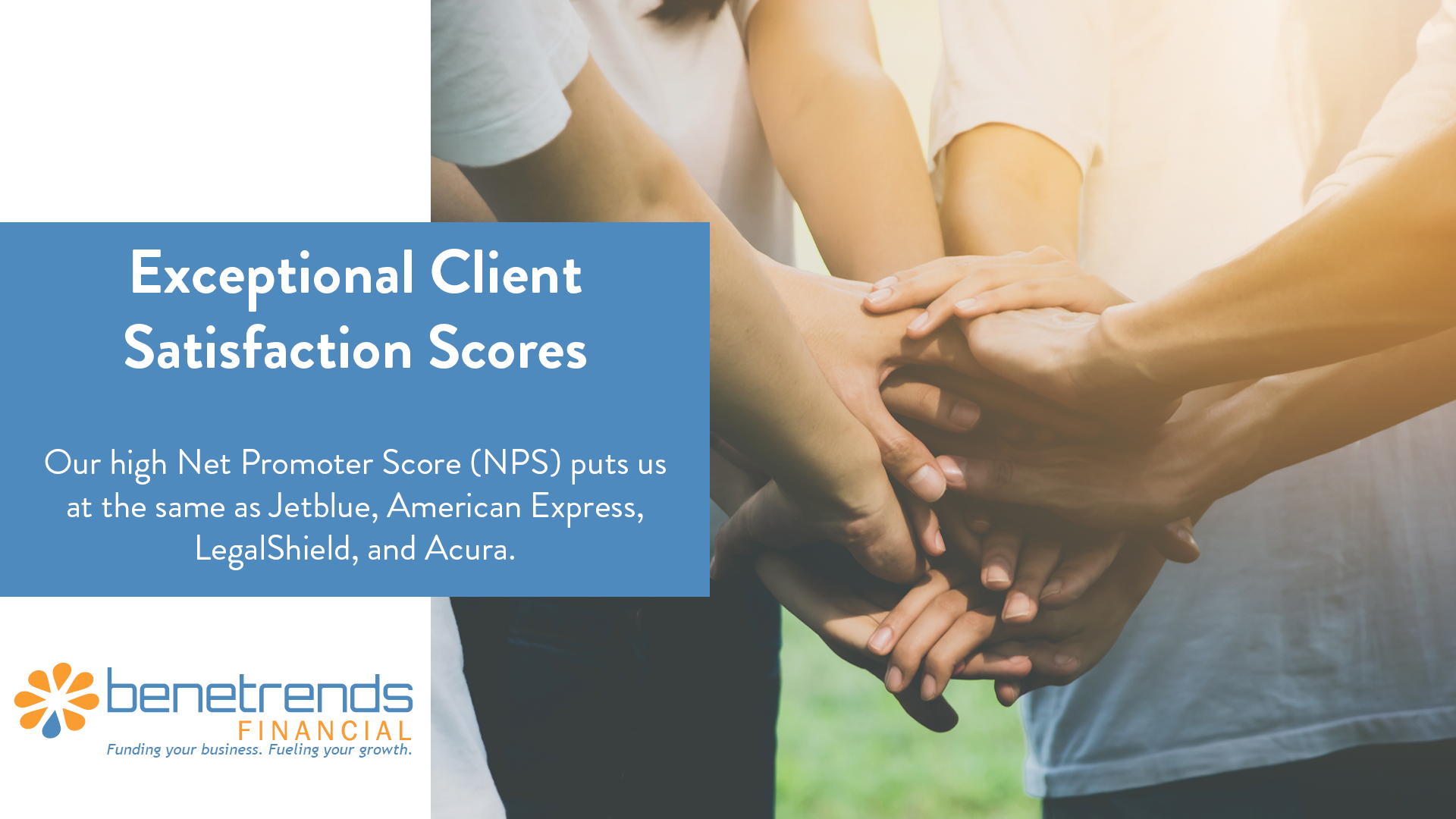 Benetrends Financial Client Satisfaction