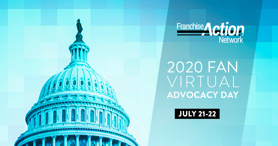 Franchise Action network (FAN) virtual advocacy day