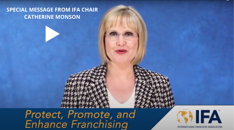 Special Message from IFA Chair Catherine Monson 8